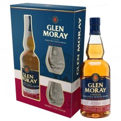 Виски Glen Moray Sherry Cask with Glasses (Глен Морай Шерри Каск) 40% 0.7L