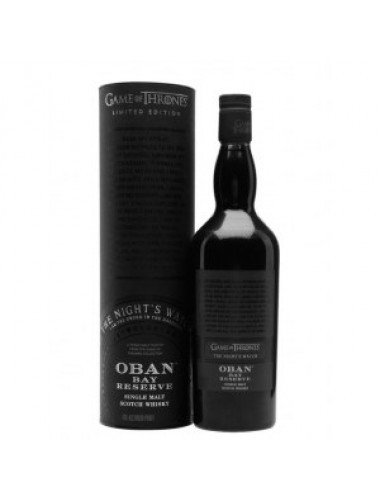 Виски Oban Bay Reserve Game of Thrones (Обан Бэй Резерв Игра Престолов) 43% 0.7L